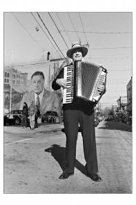 Accordion player. Image provided by Maria Petrone