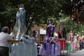 Parade of Saints. Image provided by Maria Petrone