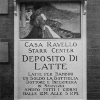Sign for Starr Centre's Casa Ravello Milk Station. Image provided by Historical Society of Pennsylvania