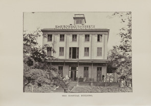 The Hospital Building at Sanitarium Playground 