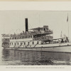 "One of the Sanitarium steamboats - ""John F. Smith"" - returning from the Red Bank toward the close of the day. Image provided by Historical Society of Pennsylvania"
