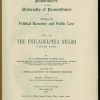 Title page of &quot;The Philadelphia Negro&quot;. Image provided by Library Company of Philadelphia