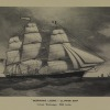 &quot;Morning Light,&quot; Clipper Ship; Gross Tonnage, 850 tons. Image provided by Historical Society of Pennsylvania