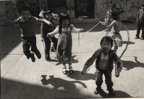 Indo-Chinese immigrants, such as these children, have settled in South Philadelphia over the past several decades.