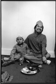 Indonesian Muslims, like this father and son, have found a sense of refuge and community in South Philadelphia.
