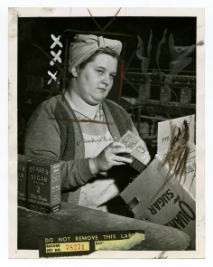 Pennsylvania Sugar Company, Mrs. Alic McGuirl. Image provided by Historical Society of Pennsylvania