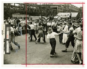 [Dancing at Cramp&#039;s Shipyard]. Image provided by Historical Society of Pennsylvania