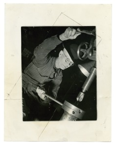[Cramp&#039;s Shipyard employee]. Image provided by Historical Society of Pennsylvania