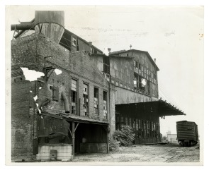 Cramp&#039;s Shipyard. Image provided by Historical Society of Pennsylvania