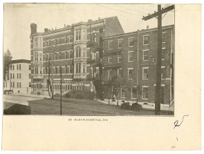 St. Mary's Hospital, 1912. Image provided by Historical Society of Pennsylvania