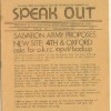 &quot;Speak Out,&quot; a monthly pamphlet distributed throughout Kensington by Olde Kensington Redevelopment Corporation. Image provided by Olde Kensington Redevelopment Corporation (OKRC)