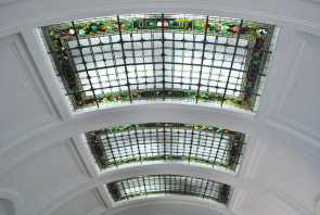 Hyperion Bank &mdash; Stained Glass Ceiling