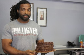 Anthony Morris, employee at The Black Pearl Bakery