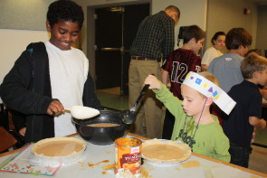 Students Baking for the Community