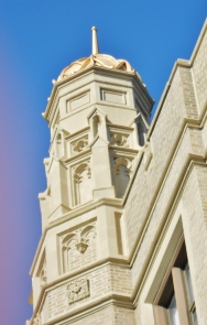 Detail of a Steeple of West Philadelphia Catholic High School