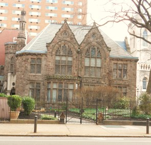 Church with Courtyard from 22nd Street