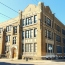 West Philadelphia Catholic High School from the corner 45th and Ludlow Streets.