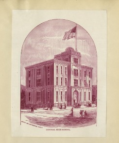 Boys Central High School Illustration
